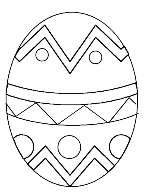 Coloring Now » Blog Archive » Easter Egg Coloring Pages