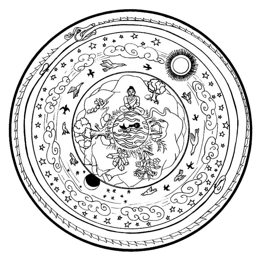 Mandalas Coloring Pages Coloring Pages Gallery on Mandala Coloring Pages