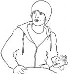 justin bieber coloring pages to print 3
