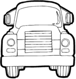 truck coloring pages 10